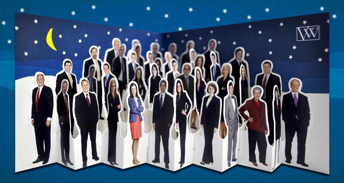 Portfolio Van Winkle Pop Up Holiday Card 2012
