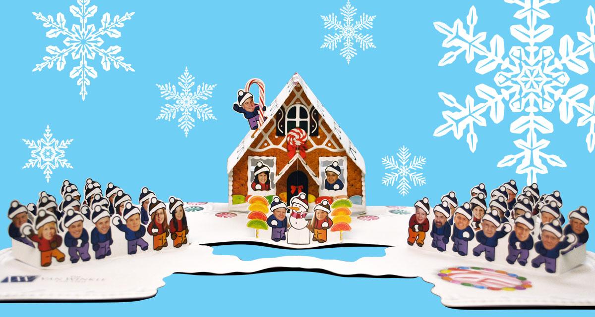 Portfolio Van Winkle Pop-Up Holiday Card 2013