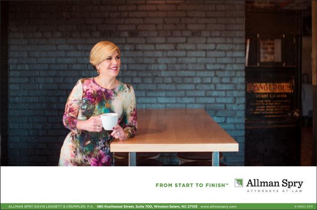 Portfolio Allman Spry Law Firm Advertisement