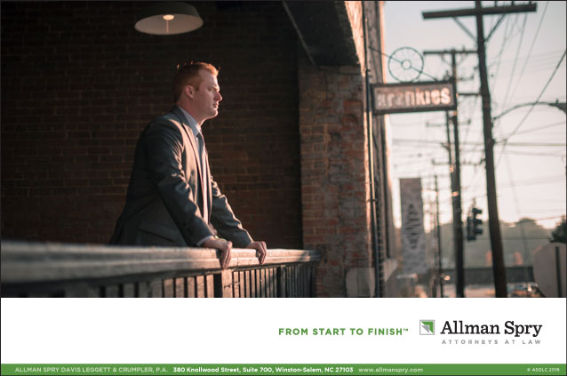 Portfolio Allman Spry Law Firm Advertisement