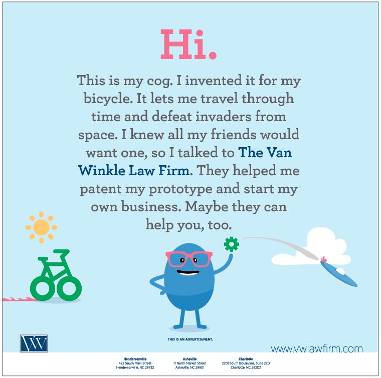 Portfolio Van Winkle Intellectual Property Advertisement